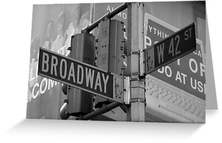 Broadway by Samantha Jones