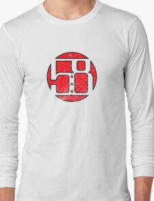 58 Circle Red Long Sleeve T-Shirt