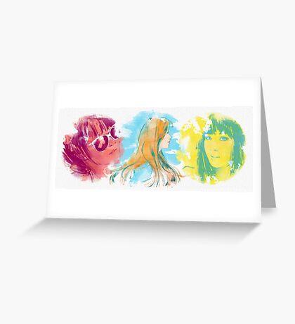 SNSD Seohyun Greeting Card