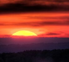 Tennessee Sunset by Paul Wolf