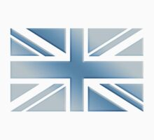 UNION JACK FLAG UK TRUE BLUE ICE by TOM HILL - Designer