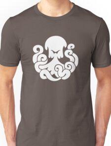 Bioshock Infinite Undertow Vigor [White on Black] Unisex T-Shirt