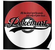 Pokemart retro logo Poster