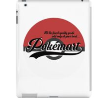 Pokemart retro logo iPad Case/Skin