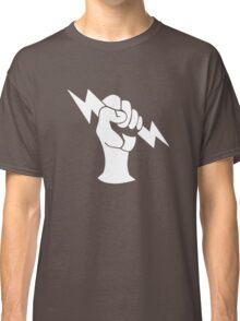 Bioshock Infinite Shock Jockey Vigor [White on Black] Classic T-Shirt