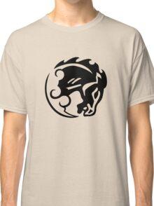 Bioshock Infinite Bucking Bronco Vigor [Black on White] Classic T-Shirt