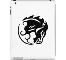 Bioshock Infinite Bucking Bronco Vigor [Black on White] iPad Case/Skin