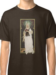 The Lord of the Rings poster Éowyn - shieldmaiden of Rohan / art nouveau Classic T-Shirt