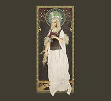 The Lord of the Rings poster Éowyn - shieldmaiden of Rohan / art nouveau T-Shirt