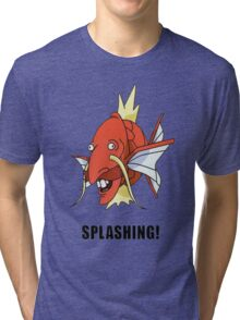 Splashing Tri-blend T-Shirt