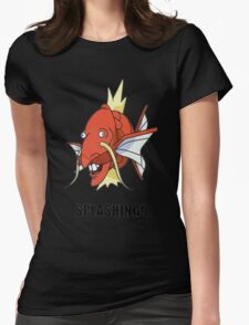Splashing Womens Fitted T-Shirt