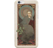 The Lord of the Rings / The Hobbit poster Thranduil the Elvenking / art nouveau iPhone Case/Skin