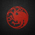 Game of Thrones - House Targaryen by Guilherme Bermêo