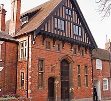 39 Waterside Stratford Upon Avon it used to be the RSC theatre workshop by Keith Larby