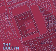 The Boleyn Ground - West Ham Utd by 76kid