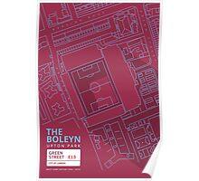 The Boleyn Ground - West Ham Utd Poster