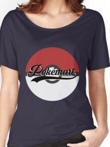 Pokemart retro logo Women's Relaxed Fit T-Shirt