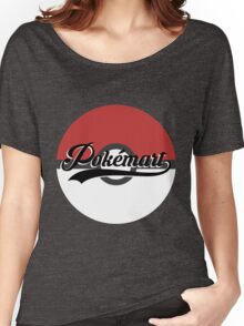 Pokemart retro logo Women's Relaxed Fit T-Shirt
