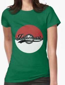 Pokemart retro logo Womens Fitted T-Shirt