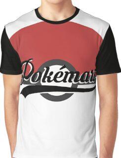 Pokemart retro logo Graphic T-Shirt
