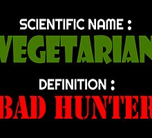 Vegetarian Bad Hunter by jpmdesign