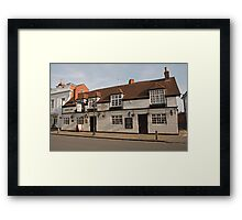 The Windmill Pub in Stratford Upon Avon Warwickshire England Framed Print