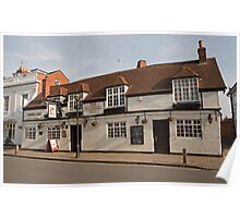 The Windmill Pub in Stratford Upon Avon Warwickshire England Poster