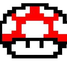Mario Mushroom by Aiden93
