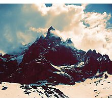 Cloudy Peak Photographic Print
