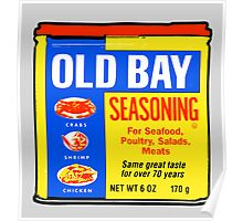 Old Bay Can Poster