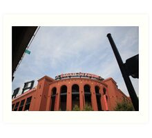 Busch Stadium - St. Louis Cardinals Art Print