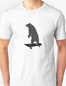 skater bear  Unisex T-Shirt