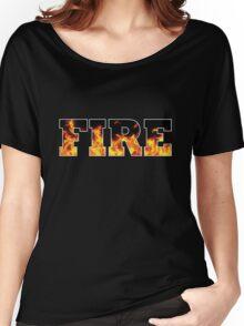 FIRE Women's Relaxed Fit T-Shirt