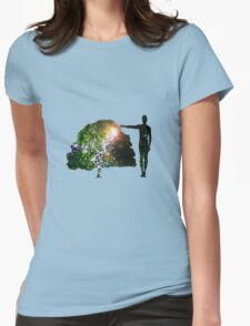 Eco Warrior (Male) Womens Fitted T-Shirt