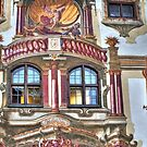Pilate's House Detail - Oberammergau - Germany by paolo1955