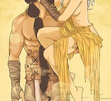 Khal and Khaleesi by Pulvis