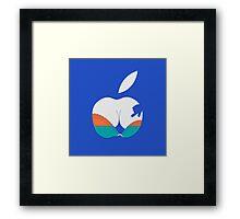 i touch Framed Print