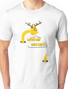 Worm with Horns VRS2 T-Shirt