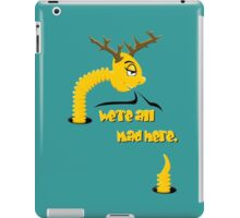 Worm with Horns VRS2 iPad Case/Skin