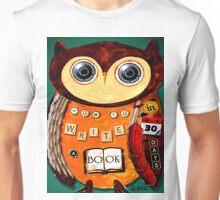 Editorial Owl Unisex T-Shirt