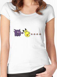 poke Women's Fitted Scoop T-Shirt