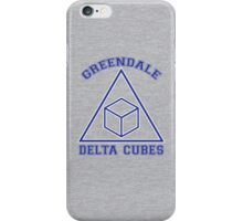 Greendale Delta Cubes Frat iPhone Case/Skin