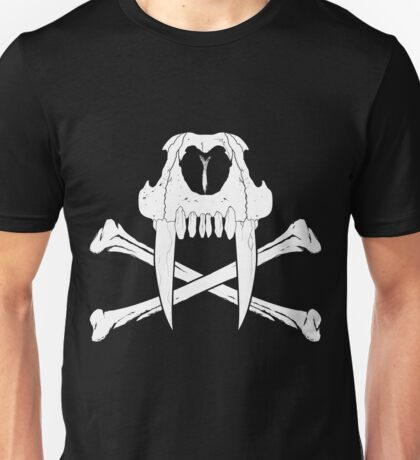 Sabertooth and Crossbones Unisex T-Shirt