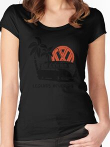 Legends Never Die - Retro BULLY T-Shirt Women's Fitted Scoop T-Shirt