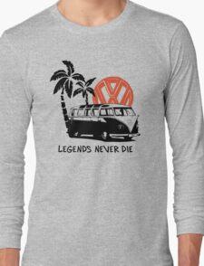 Legends Never Die - Retro BULLY T-Shirt Long Sleeve T-Shirt