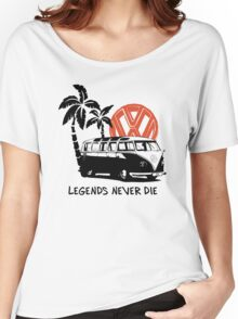 Legends Never Die - Retro BULLY T-Shirt Women's Relaxed Fit T-Shirt