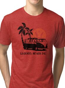Legends Never Die - Retro BULLY T-Shirt Tri-blend T-Shirt