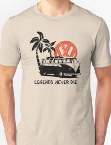 Legends Never Die - Retro BULLY T-Shirt T-Shirt