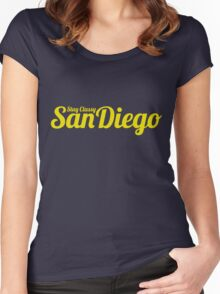 Stay Classy San Diego Women's Fitted Scoop T-Shirt