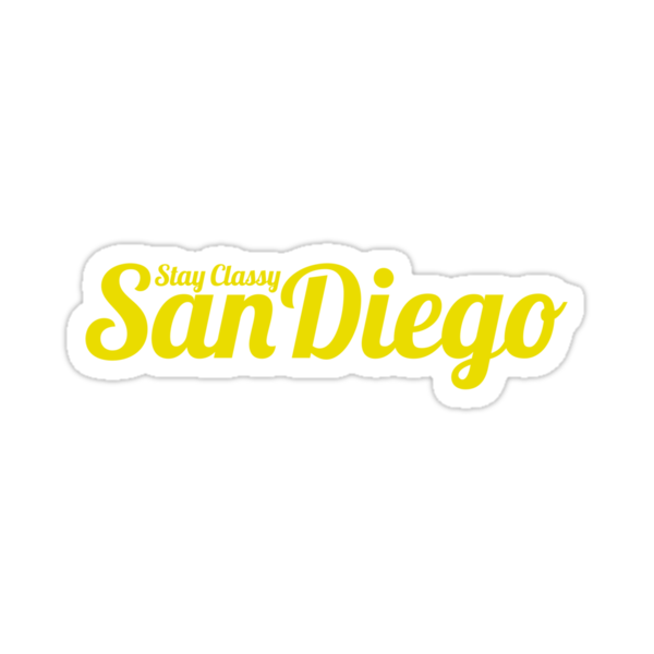 Stay Classy San Diego by typeo